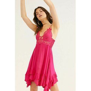 "Free People FP One ""Adella"" Slip Lace Dress XL US"